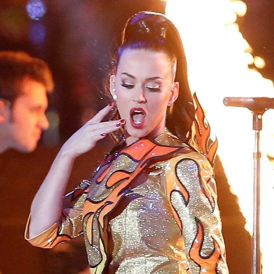 Katy Perry Superbowl Makeup CoverGirl