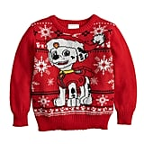 Jumping Beans Paw Patrol Marshall Holiday Sweater