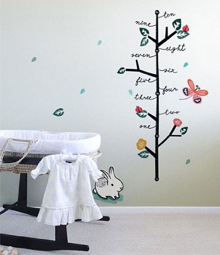 Wee Gallery Growth Chart ($38)