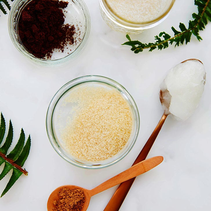 Coconut and Coffee Sugar Scrub