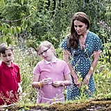 Kate Middleton Hampton Court Palace Garden Visit 2019