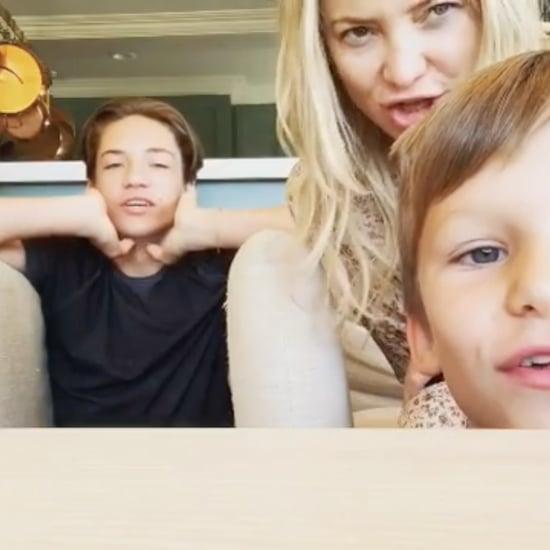Kate Hudson's Son Ryder's Comment on Her Instagram