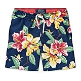Ralph Lauren Childrenswear Captiva Floral-Print Swim Trunks