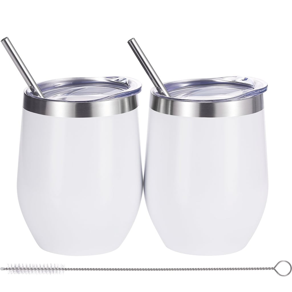 Skylety 2 Sets Double Insulated Stainless Steel Tumbler
