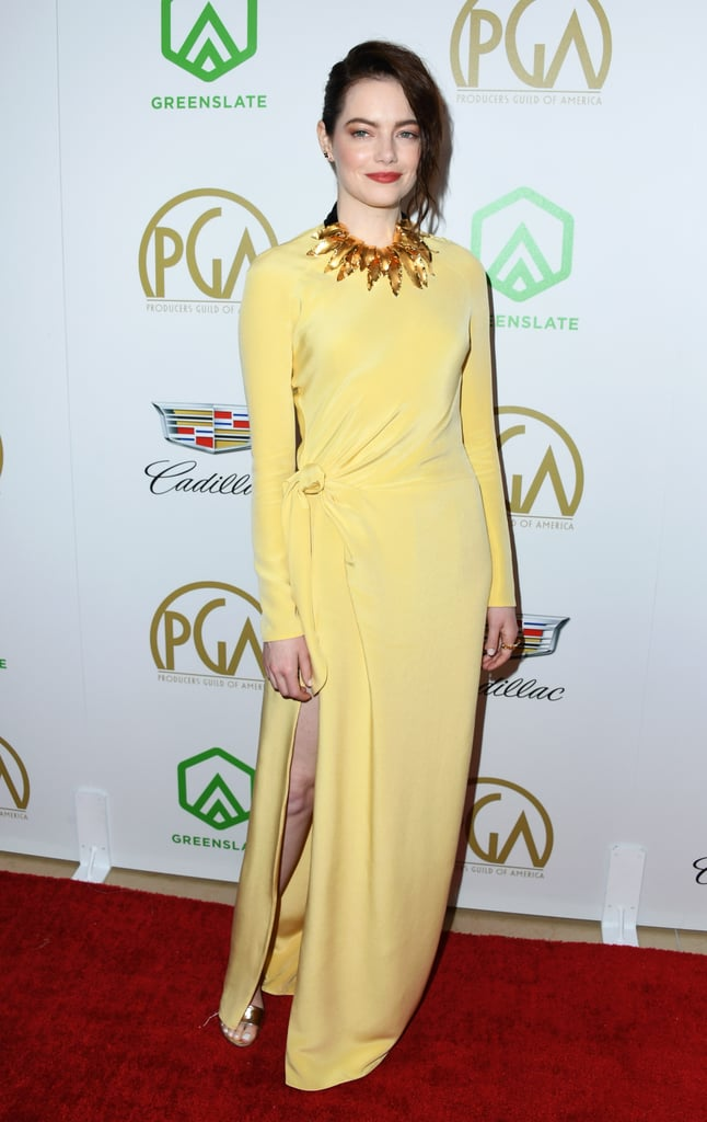 Emma Stone at the 2019 Annual Producers Guild Awards