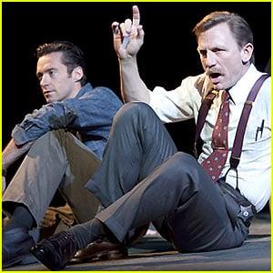 Exclusive First Look at Daniel Craig & Hugh Jackman in Steady Rain(on Broadway)