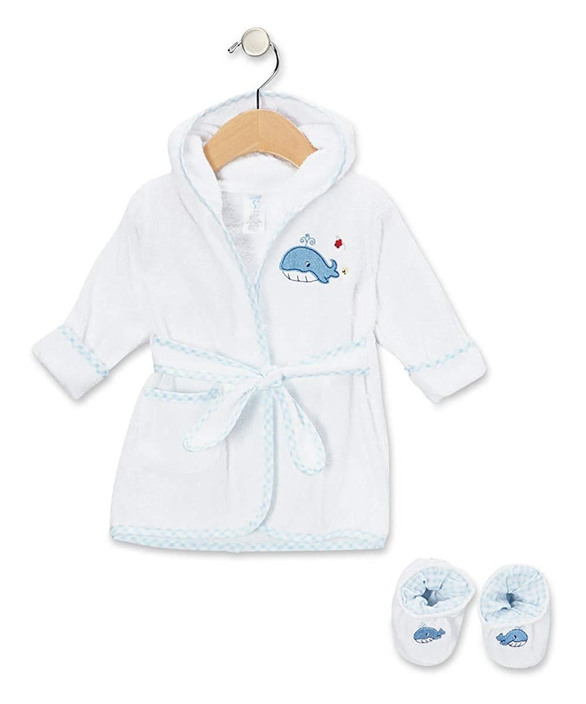 Terry Bathrobe With Booties
