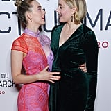 Saoirse Ronan Greta Gerwig at the Little Women Premiere in Paris