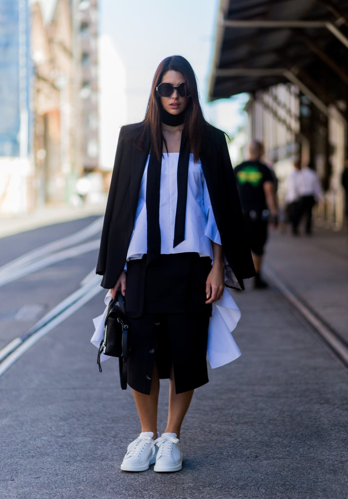 A Skinny Scarf Will Instantly Add Allure to Your Outfit