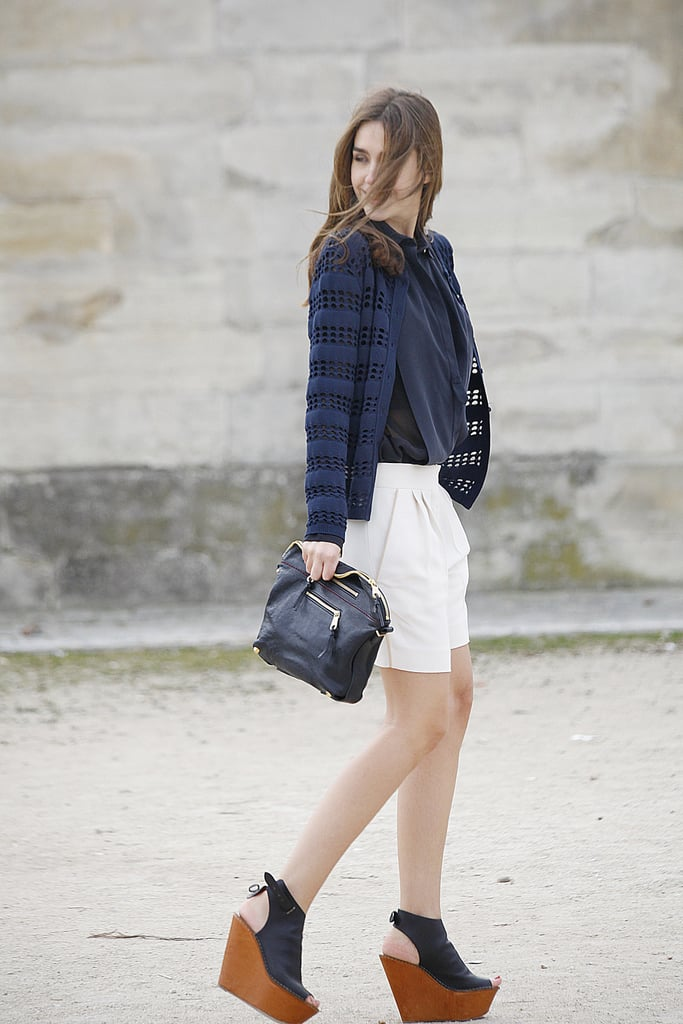 Fresh kicks and shorts give a glimpse into effortless Spring style.