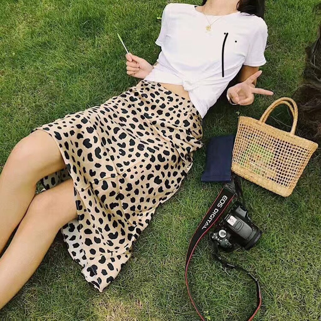 ICYMI, Walmart Is Selling the Viral Fashion-Girl Leopard Skirt For Just $11