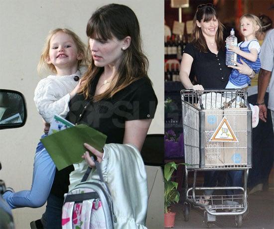 Jennifer Picks Up Violet From School