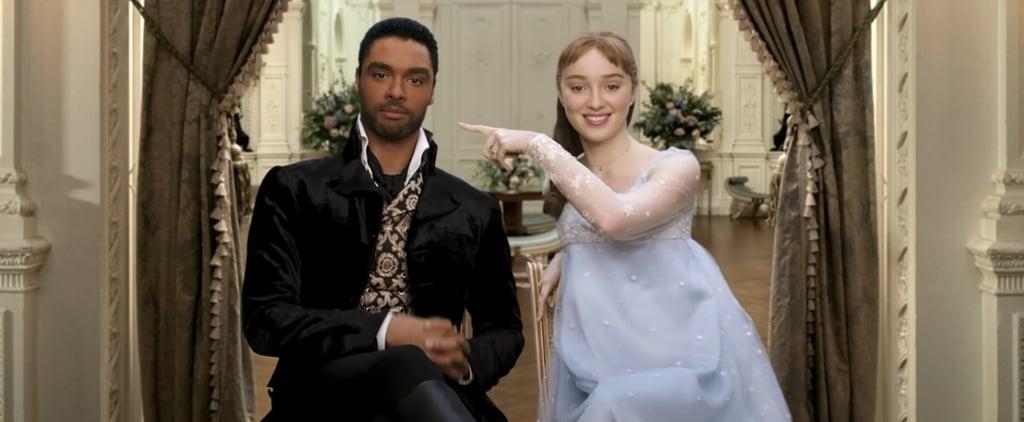 Watch the Bridgerton Cast Guess Regency Slang