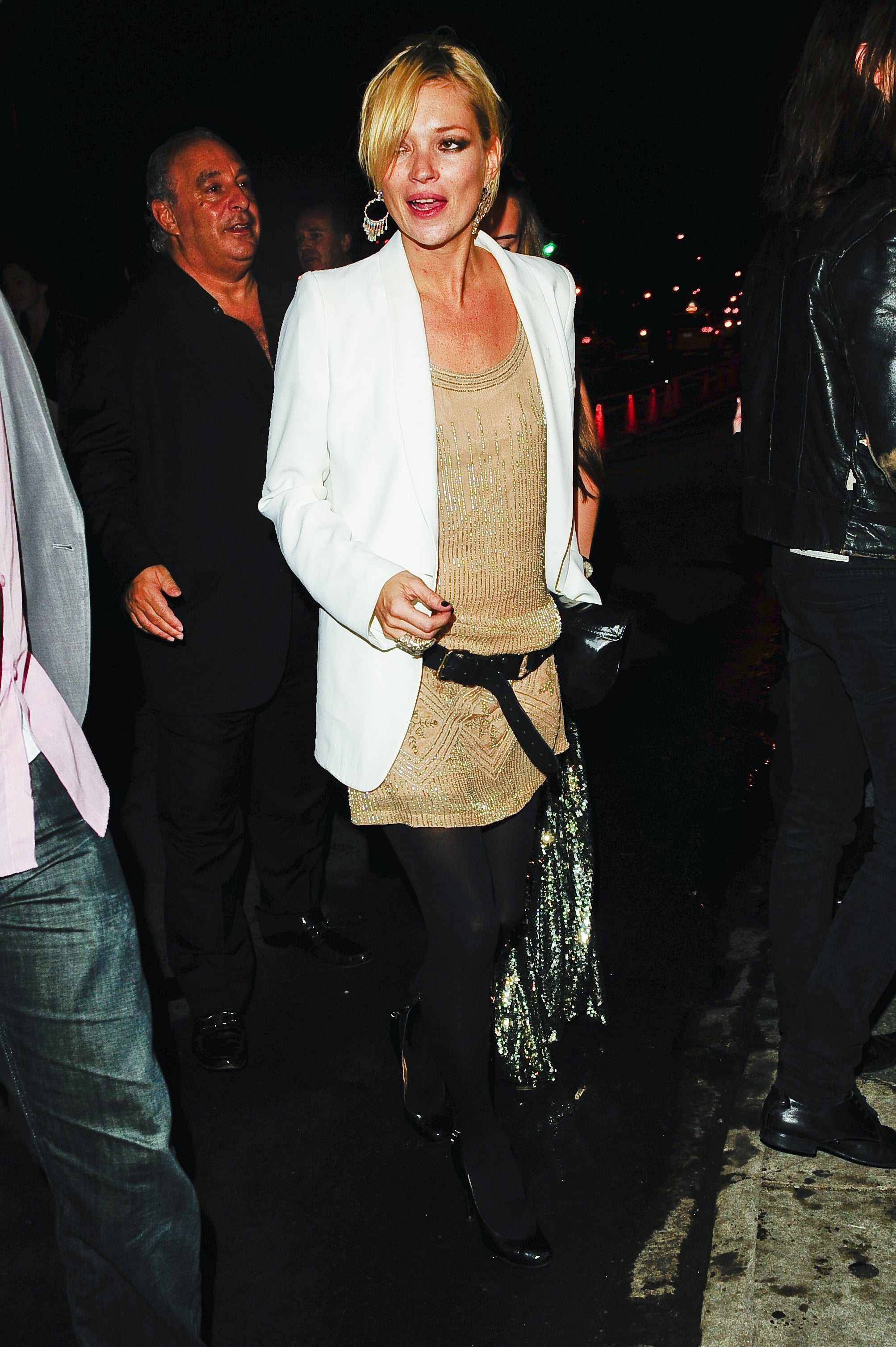 Photos Of Kate Moss At Topshop Launch And Party In New ...