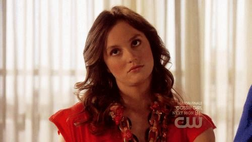 Blair had her weirdly adorable bratty moments.