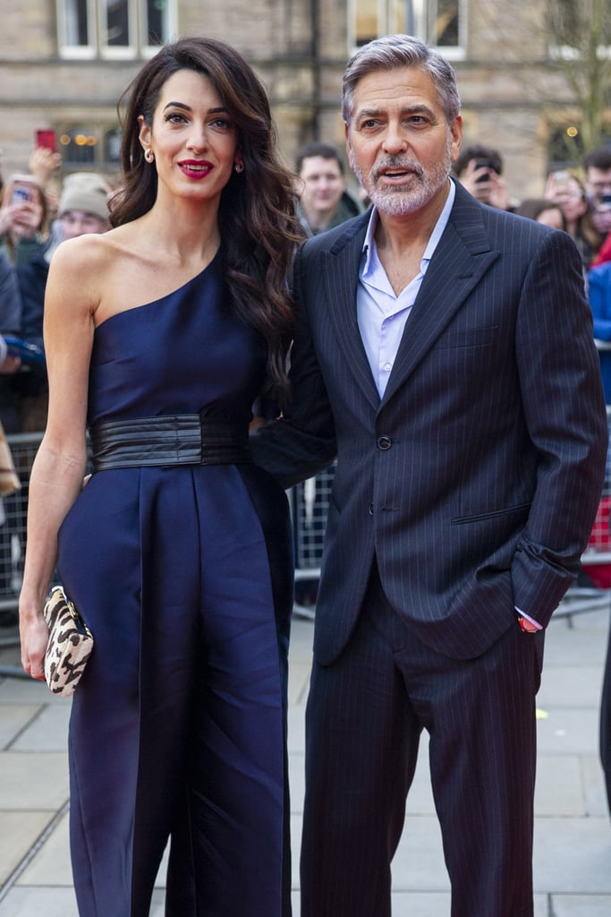 George and Amal Clooney at Postcode Lottery Charity 2019 ...