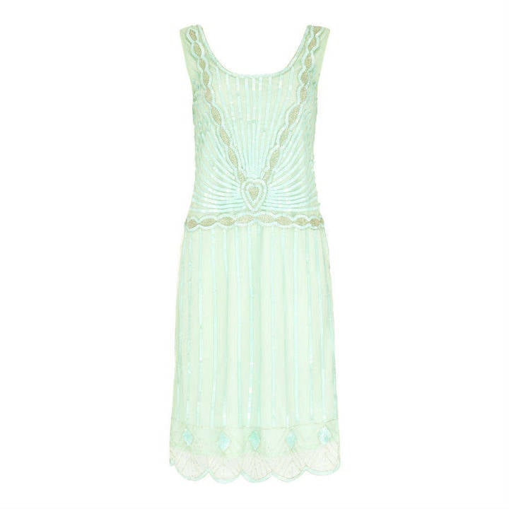 Gatsbylady London Charleston Flapper Embellished Wedding Dress (£89)