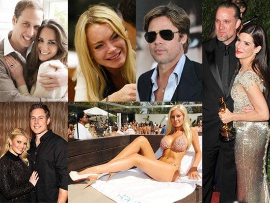 Biggest Celebrity Headlines of 2010 Poll