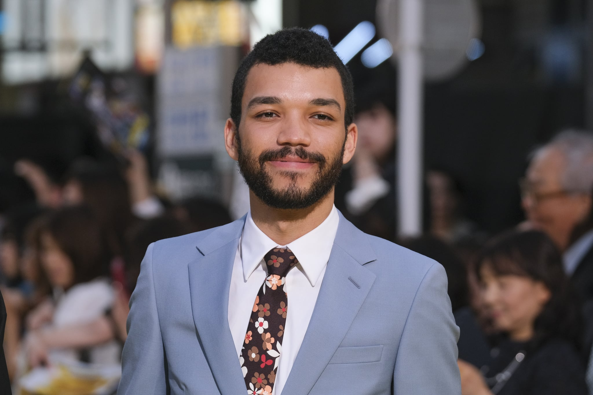 TOKYO, JAPAN - APRIL 25:  Actor Justice Smith attends the world premiere of 'Pokemon Detective Pikachu' on April 25, 2019 in Tokyo, Japan. (Photo by Keith Tsuji/Getty Images)