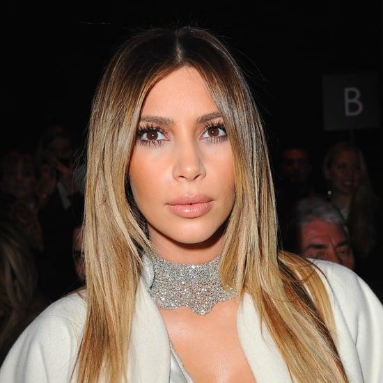 Kim Kardashian & Celebrities Front Row at Paris Fashion Week