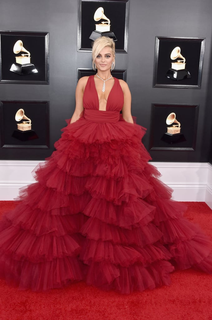 Bebe Rexha at the 2019 Grammy Awards