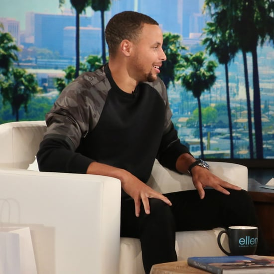 Stephen Curry on The Ellen DeGeneres Show September 2016