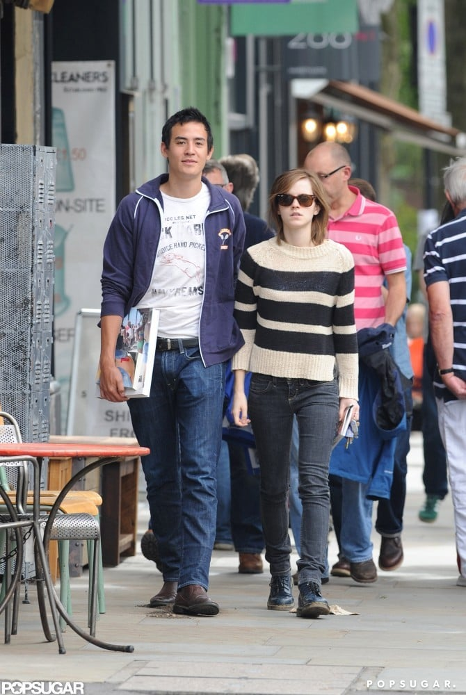 Emma Watson Breaks From Work For a Weekend With Her Man