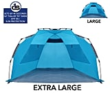 Beach Tent With UPF 50+ Sun Protection