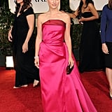 Natalie Portman hit the 2012 Golden Globe red carpet in style.