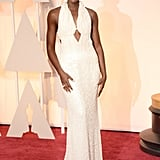 Lupita Nyong'o at the 2015 Academy Awards