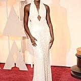 Lupita Nyong'o at the 2015 Academy Awards