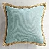 Calliope Jute-Trimmed Maui Pillow