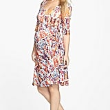 Japanese Weekend Side Tie Maternity Dress