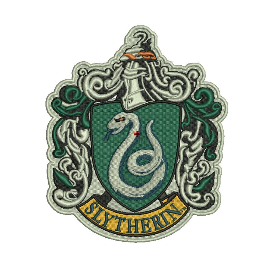 Slytherin Crest Machine Embroidery Design File Pattern | You Don't Need the  Dark Arts to Find the Perfect Gifts For Slytherins This Holiday Season |  POPSUGAR Entertainment Photo 22