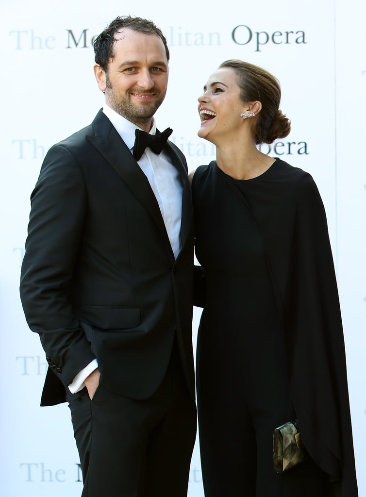Keri Russell and Matthew Rhys made a picture-perfect couple when they attended a performance of Tristan und Isolde at the Metropolitan Opera House in NYC on Monday. The pair coordinated outfits for the glitzy event, which marked the beginning of the Met's 2016-2017 season; Matthew looked dapper in a classic tux, while Keri was her usual stylish self in an asymmetrical black jumpsuit. It's been an especially busy few months for the lovebirds, who welcomed their son Sam in May and attended both the White House State Dinner and the Emmy Awards, where they were each nominated for their work on The Americans. It was announced earlier this year that the hit FX series would be ending after a sixth season in 2018.