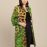 Naeem Khan Jungle Print Overcoat