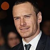 Michael Fassbender stuck a stoic pose on the red carpet.