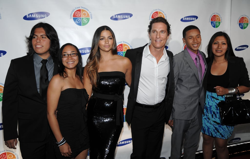 Pictures of Matthew McConaughey, Jennifer Lopez at  Four Seasons of Hope Gala in NYC