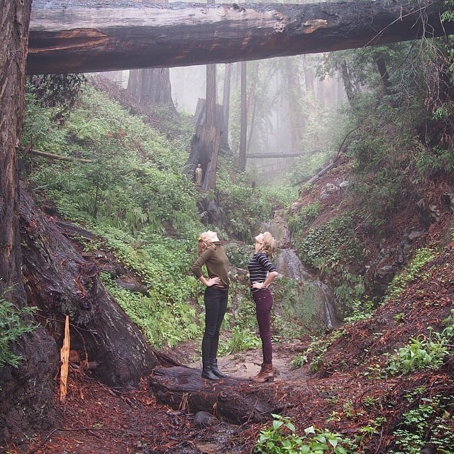 Taylor Swift and Karlie Kloss in Big Sur
