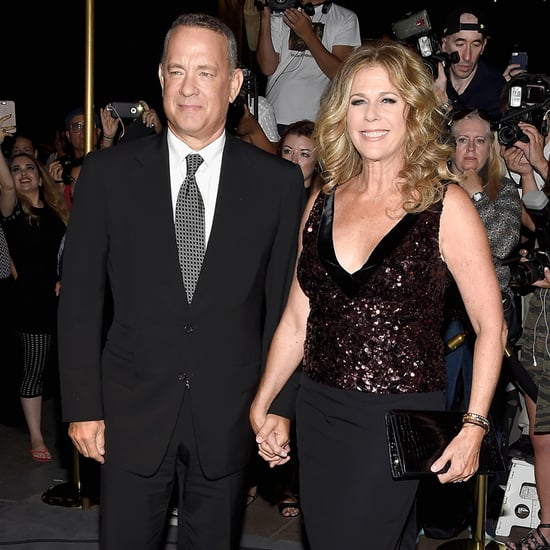 Tom Hanks and Rita Wilson at Tom Ford NYC Fashion Show 2016