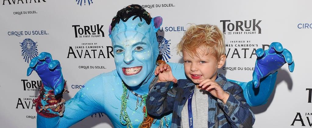 Axl Duhamel Might Just Be Avatar's Cutest Fan