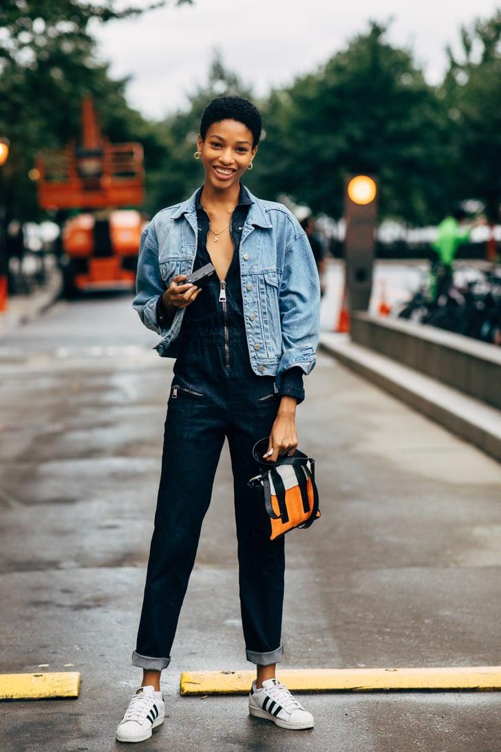 Stylish Outfit Ideas For a Denim Jacket  POPSUGAR Fashion