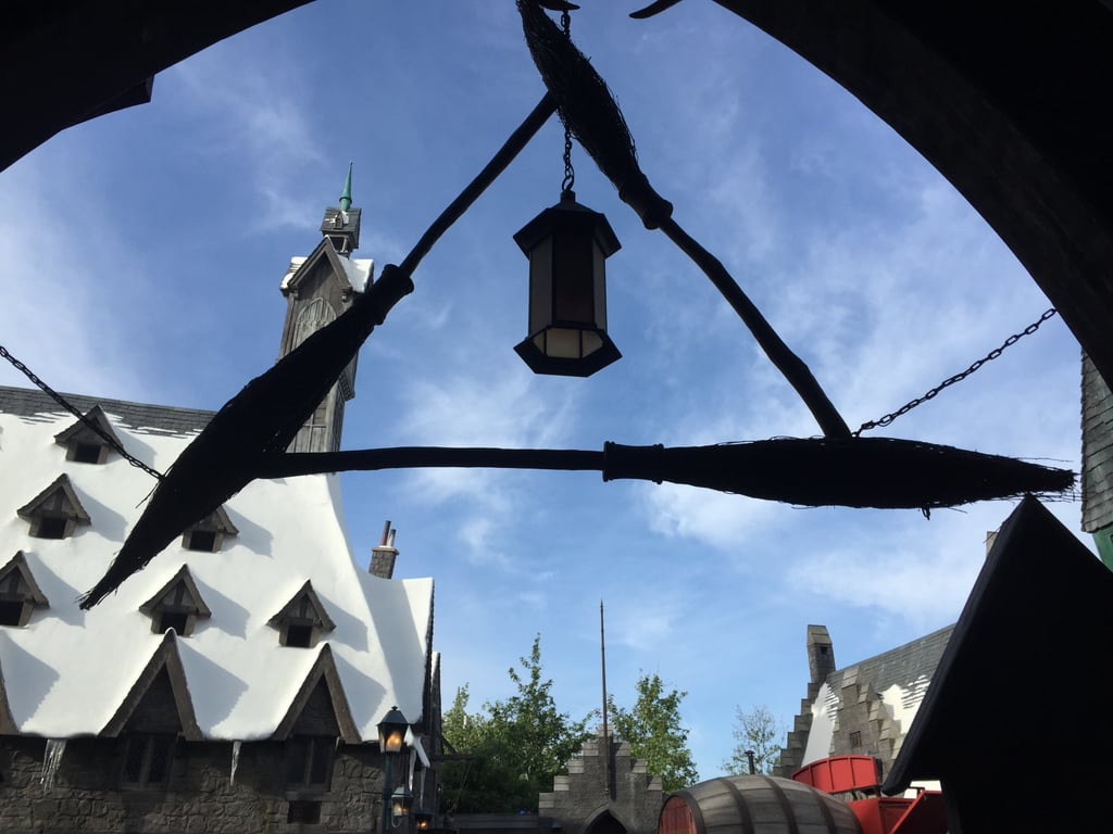 The Three Broomsticks is a fully functioning restaurant — and J.K. Rowling approved the food!