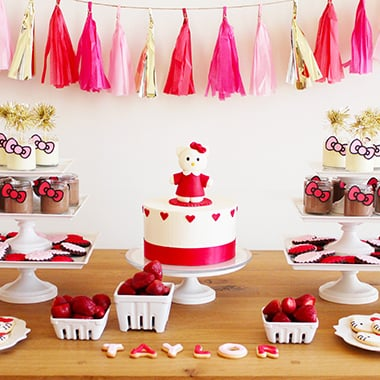Hello Kitty Birthday Party Ideas POPSUGAR Moms