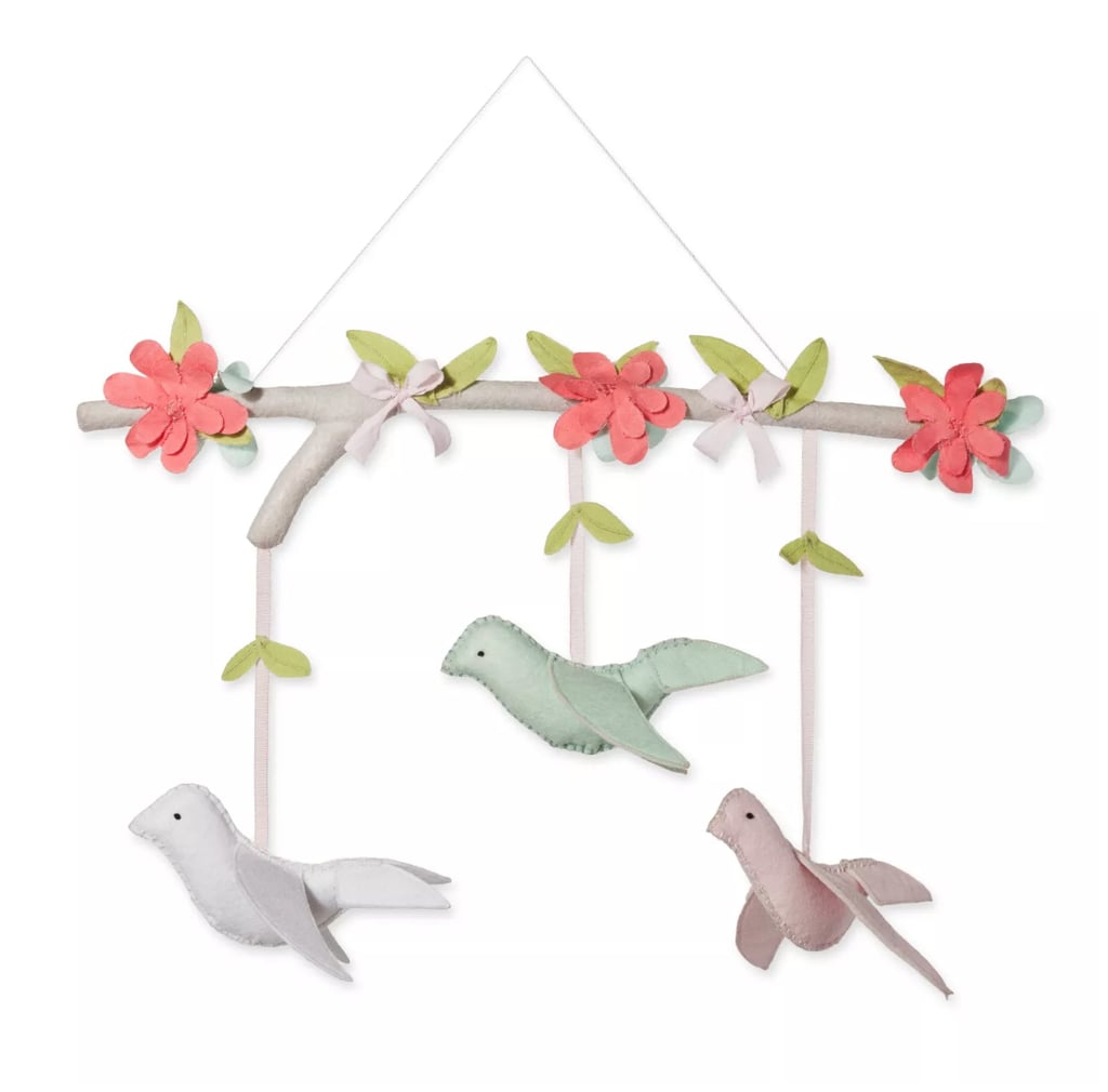 Cloud Island Pink Hanging Decor Birds