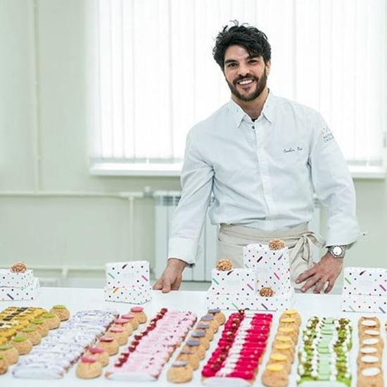 Maitre Choux Marbled Eclairs | Pastry Chef Joakim Prat