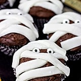 Chocolate Mummy Cupcakes