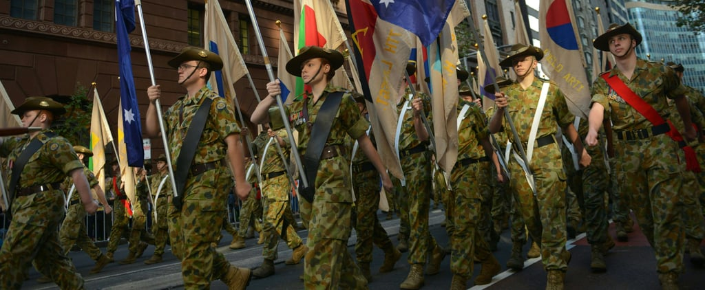 Women Leading Anzac Day Marches