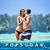 Shirtless Leonardo DiCaprio Shows Toni Garrn Love in Bora Bora