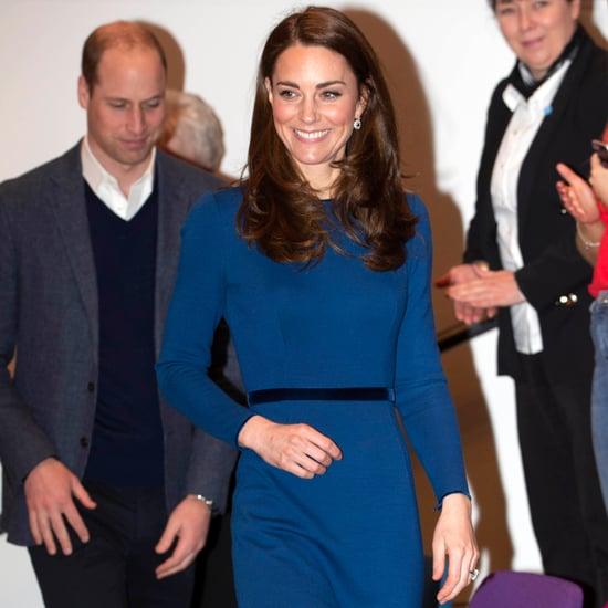 Kate Middleton Braiding Hair In Northern Ireland Feb. 2019